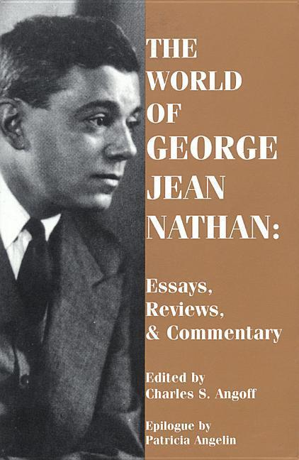 The World of George Jean Nathan: Paperback Book als Taschenbuch