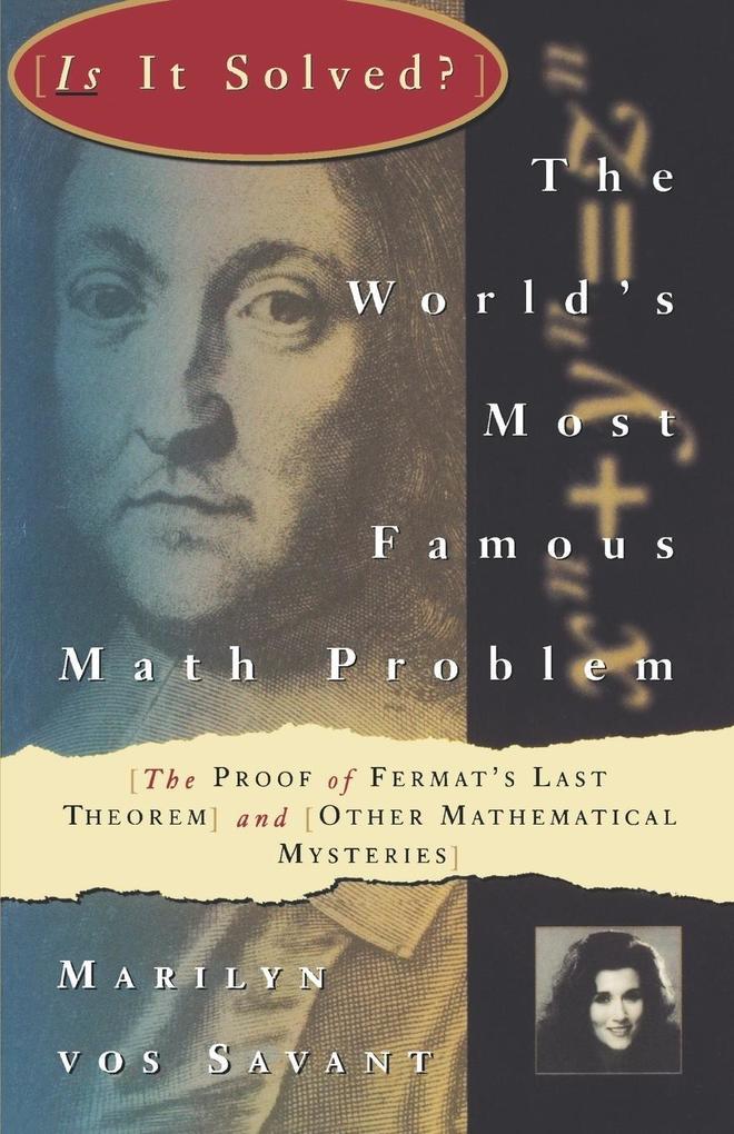 The World's Most Famous Math Problem als Buch