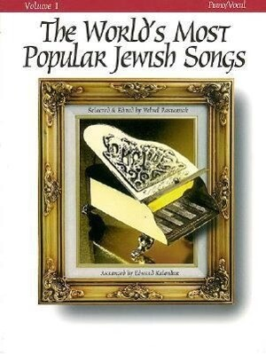 The World's Most Popular Jewish Songs for Piano, Volume 1 als Taschenbuch