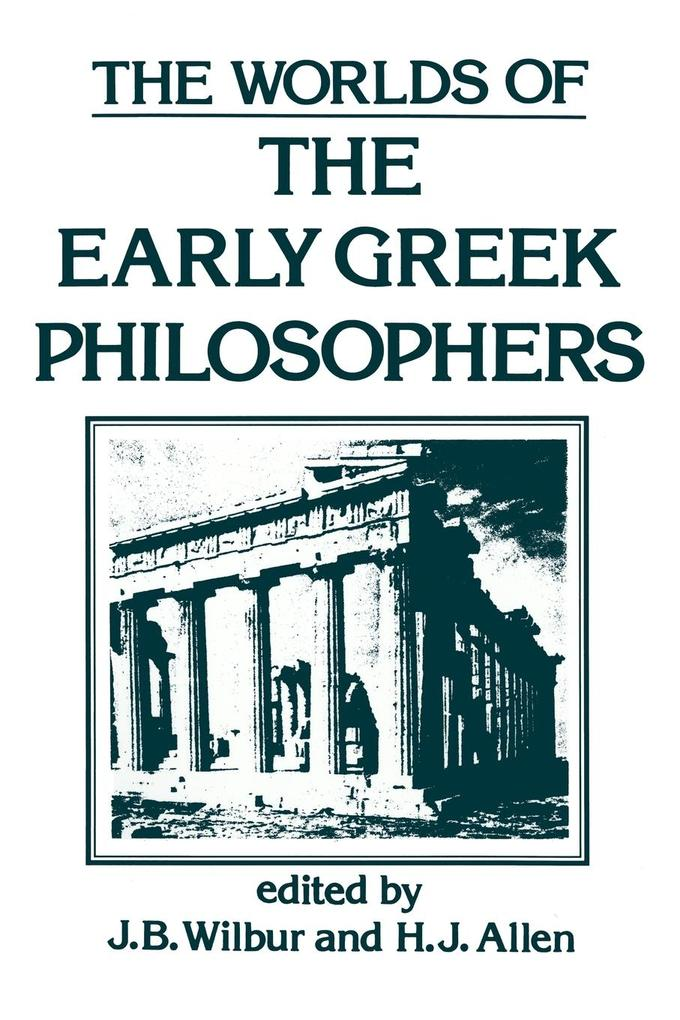 Worlds of Early Greek Philosophers als Taschenbuch