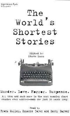 The World's Shortest Stories als Hörbuch