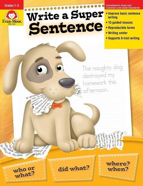 Write a Super Sentence als Taschenbuch