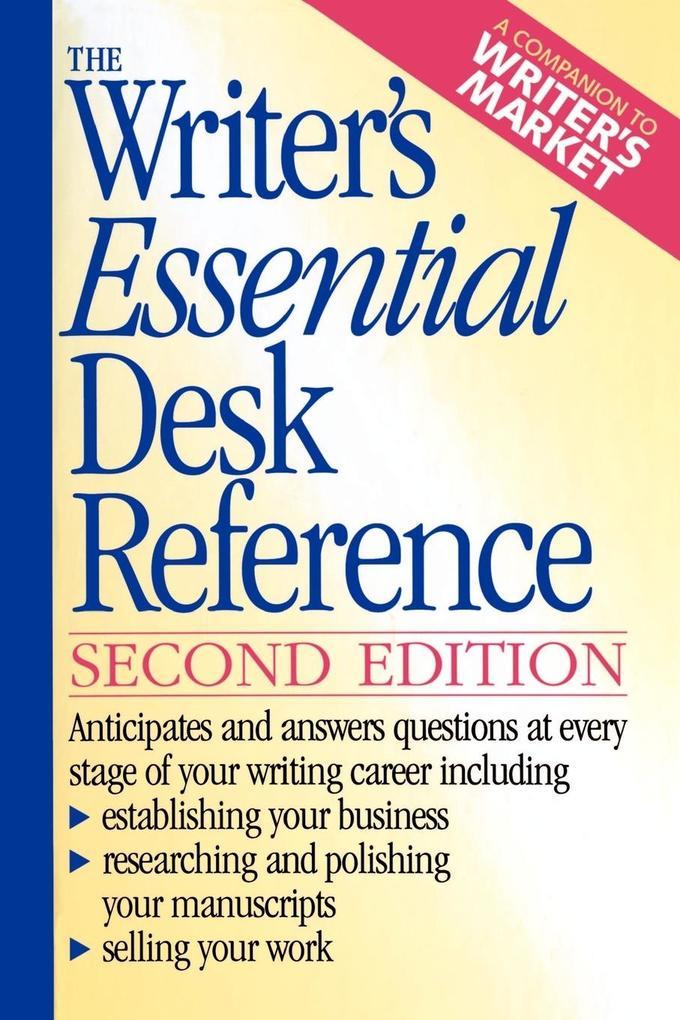 The Writer's Essential Desk Reference als Taschenbuch
