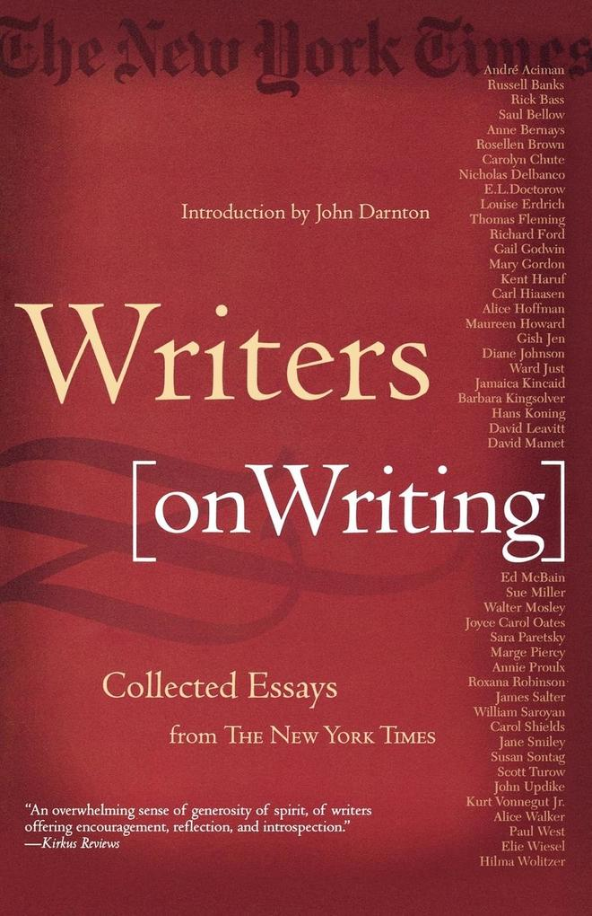 Writers on Writing als Taschenbuch