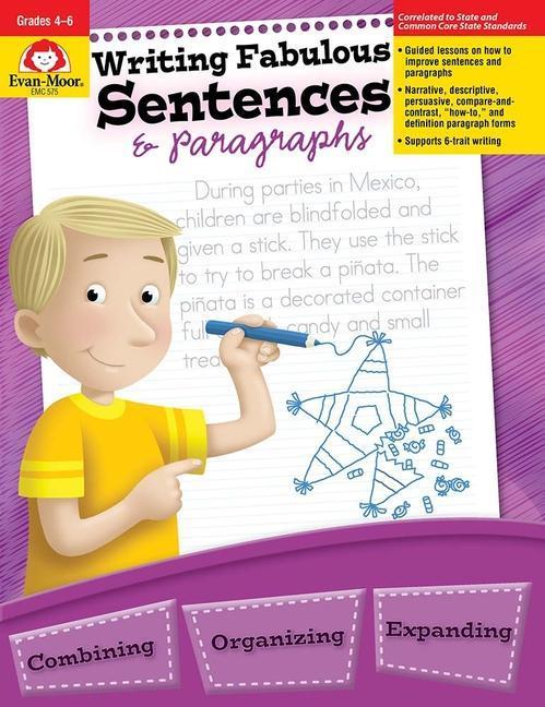 Writing Fabulous Sentences & Paragraphs als Taschenbuch