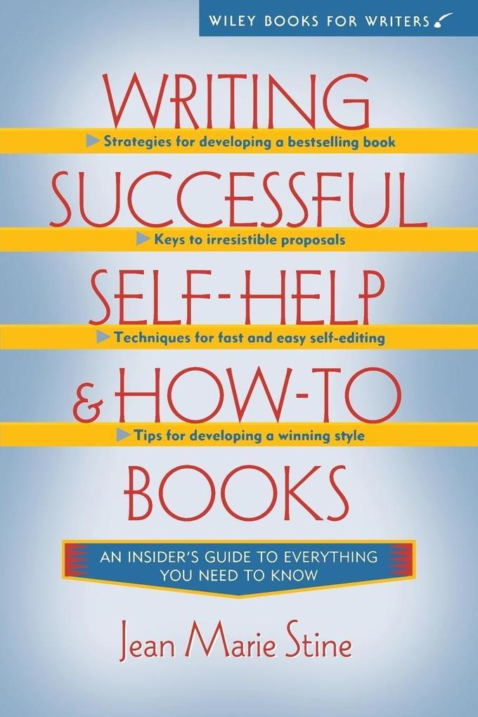 Writing Successful Self-Help and How-To Books als Taschenbuch