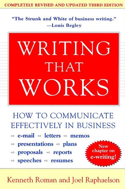 Writing That Works, 3rd Edition: How to Communicate Effectively in Business als Taschenbuch