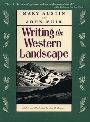 Writing the Western Landscape als Taschenbuch