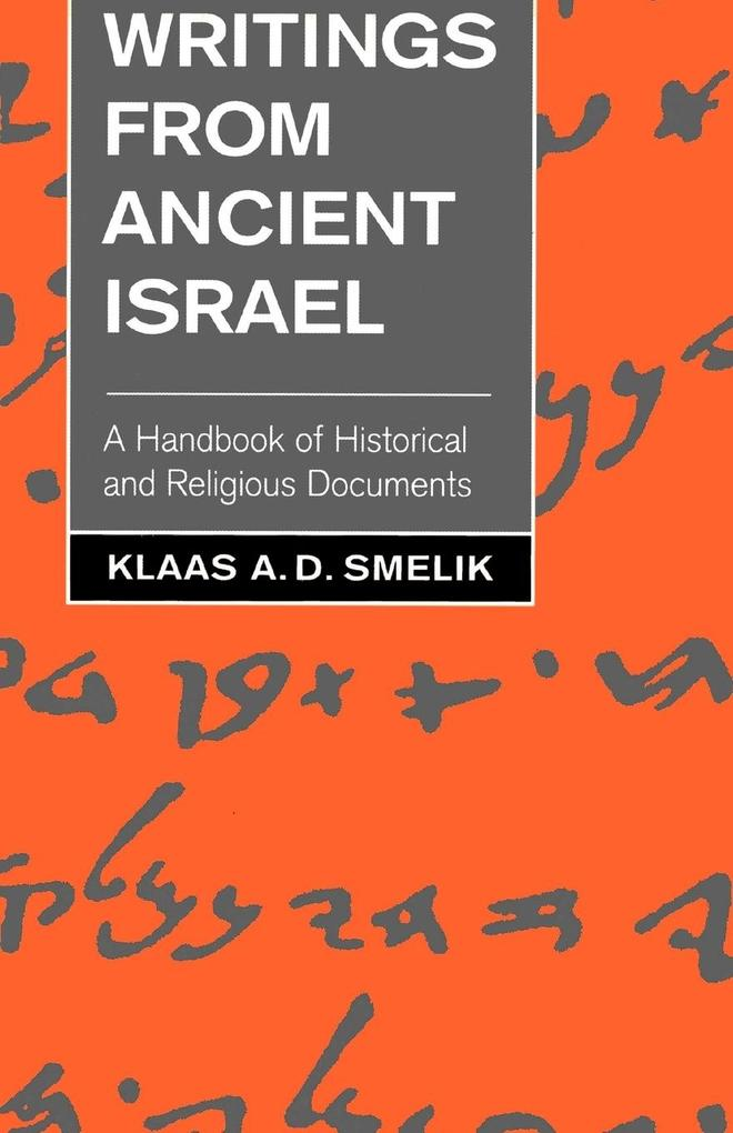 Writings from Ancient Israel als Taschenbuch