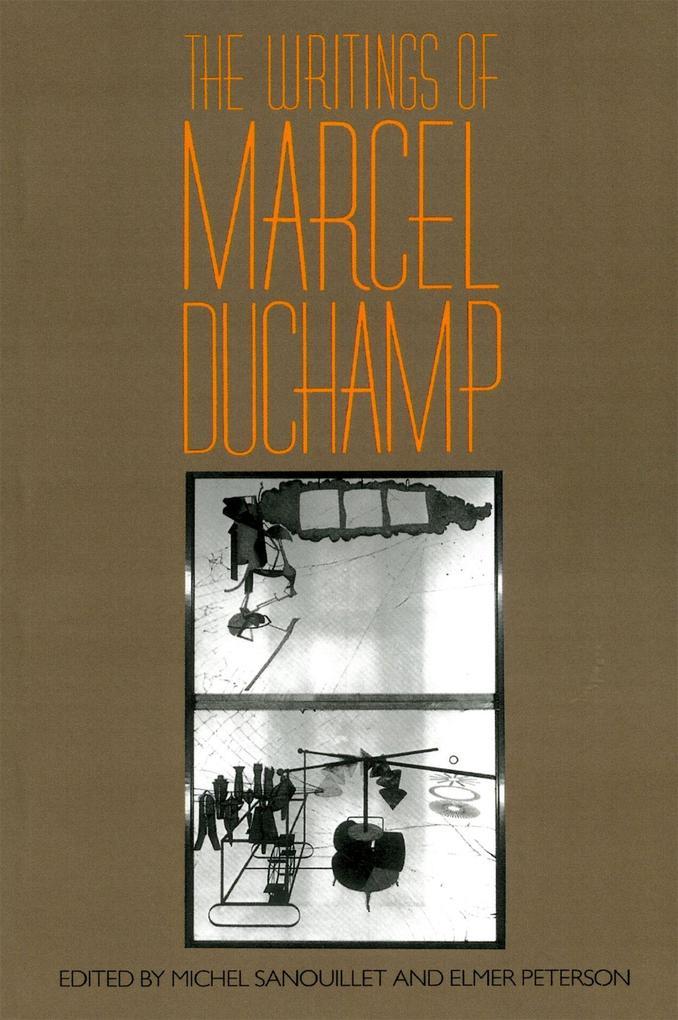 Writings of Marcel Duchamp PB als Taschenbuch