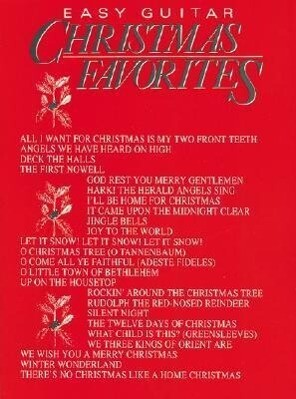Christmas Favorites: Easy Guitar als Taschenbuch