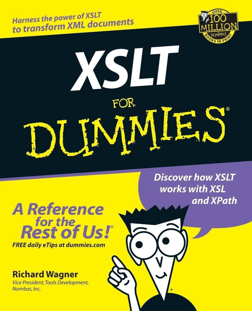 XSLT For Dummies als Buch
