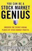 You Can Be a Stock Market Genius: Uncover the Secret Hiding Places of Stock Market Profits als Taschenbuch