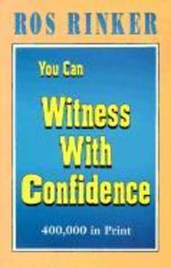 You Can Witness with Confidence als Taschenbuch
