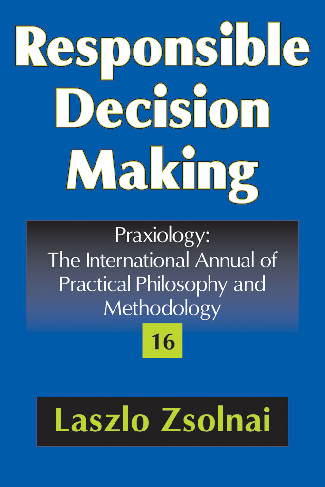 Responsible Decision Making als eBook von Laszl...