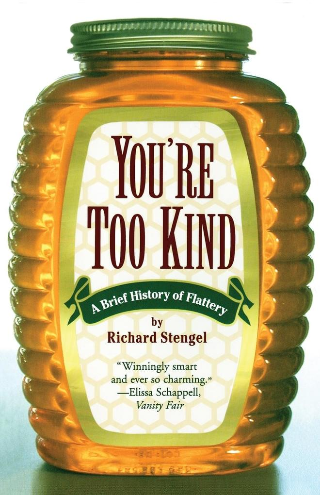Your'e Too Kind als Buch