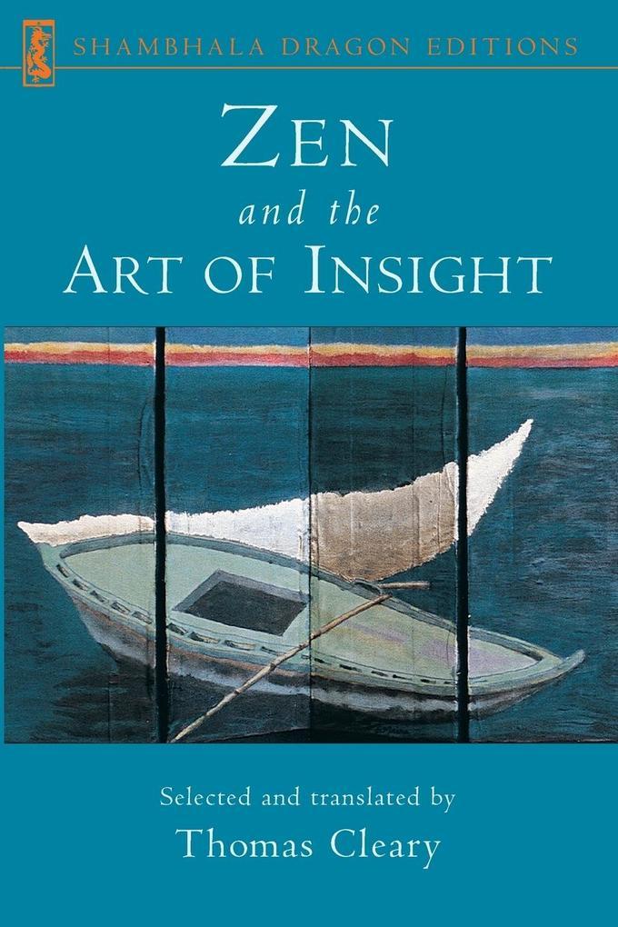Zen and the Art of Insight als Taschenbuch