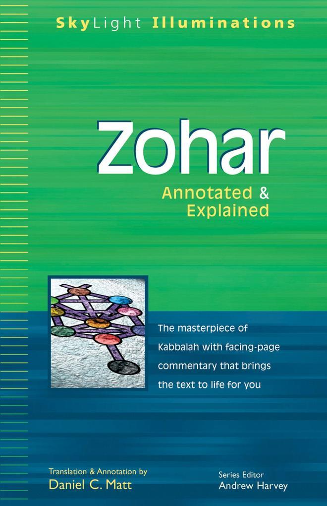 Zohar: Annotated & Explained als Taschenbuch