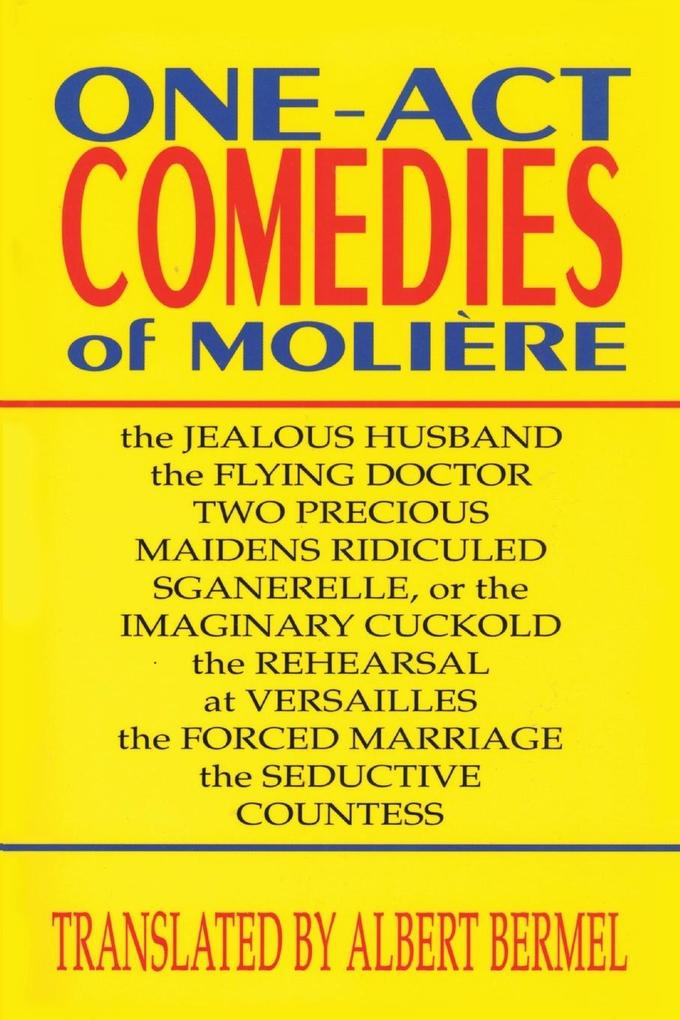 One-Act Comedies of Moliere: Seven Plays als Taschenbuch