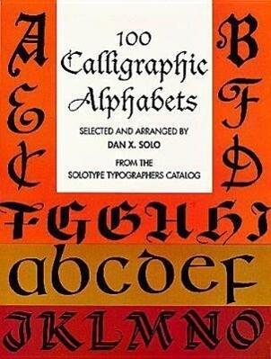100 Calligraphic Alphabets als Taschenbuch