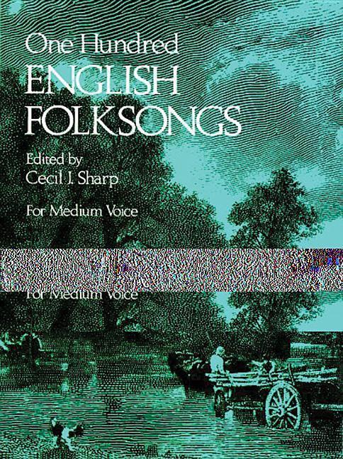 One Hundred English Folksongs als Taschenbuch