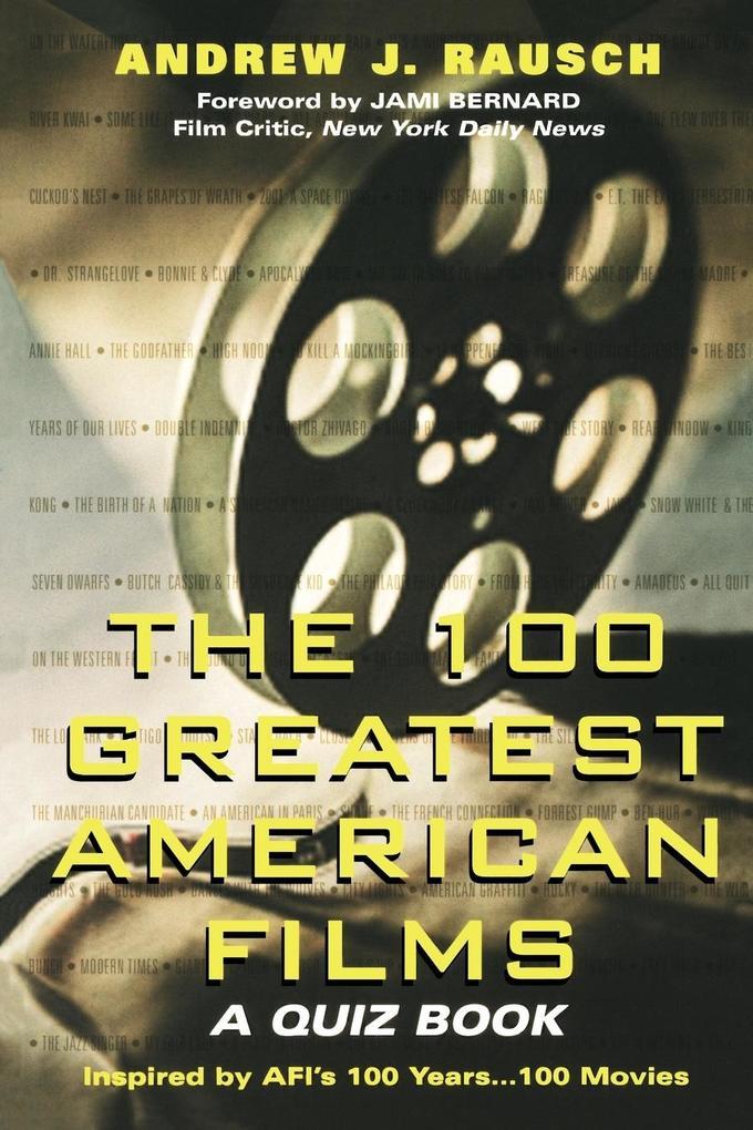 100 Greatest American Films als Taschenbuch