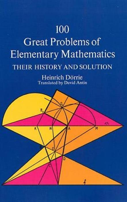 100 Great Problems of Elementary Mathematics als Taschenbuch