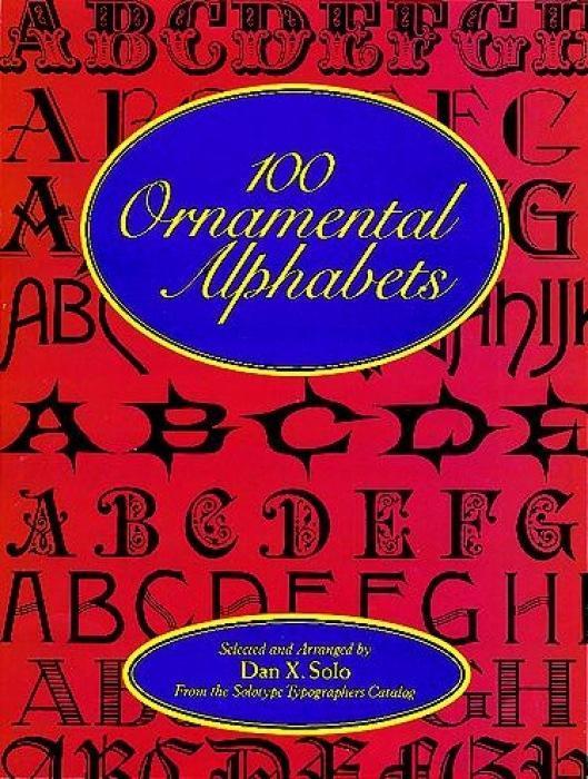 100 Ornamental Alphabets als Taschenbuch