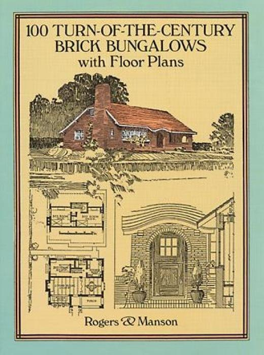 100 Turn-Of-The-Century Brick Bungalows with Floor Plans als Taschenbuch