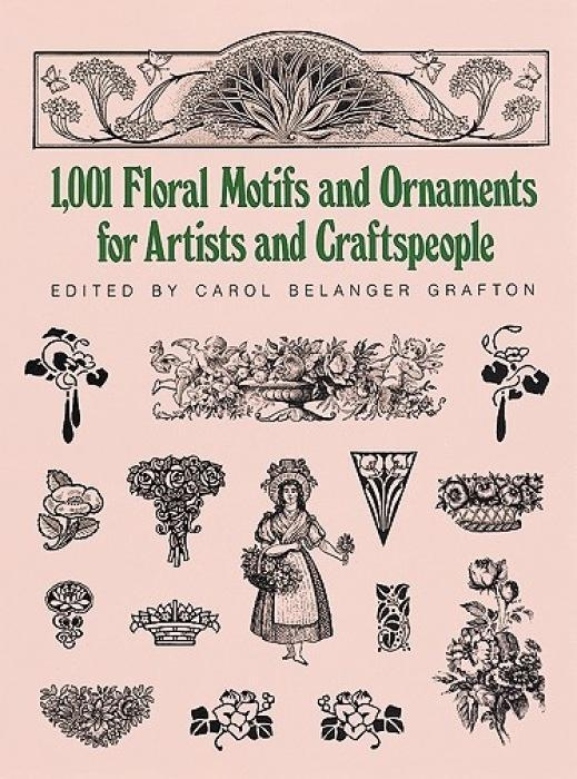 1001 Floral Motifs and Ornaments for Artists and Craftspeople als Taschenbuch