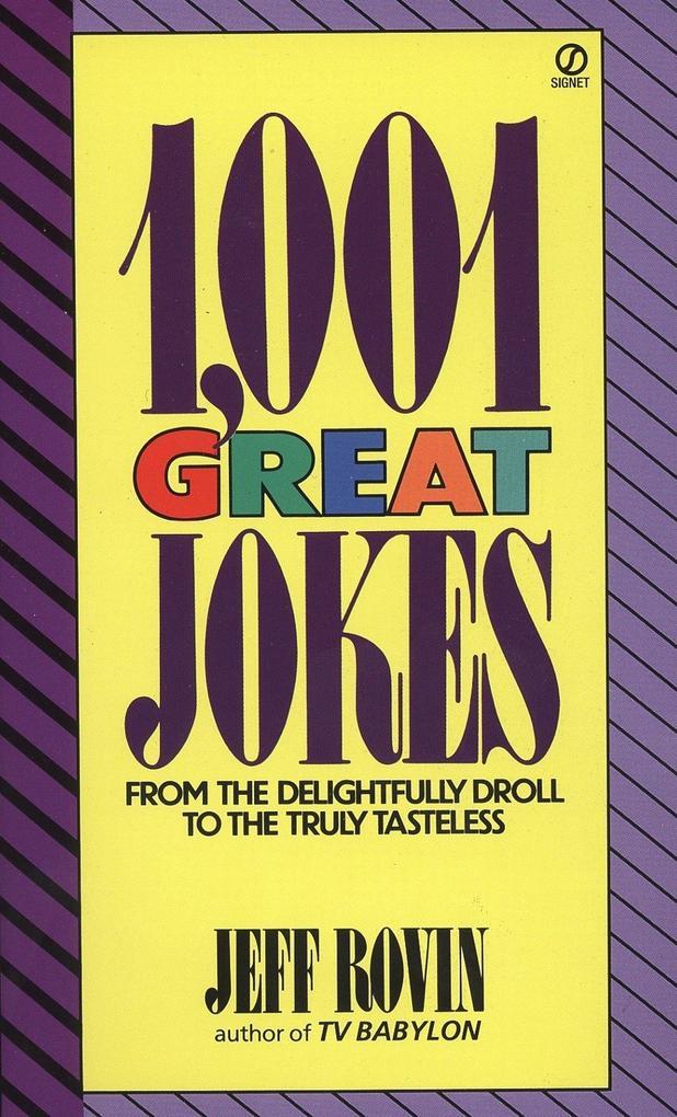 1001 Great Jokes als Taschenbuch