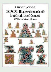 1001 Illuminated Initial Letters: 27 Full-Color Plates als Taschenbuch