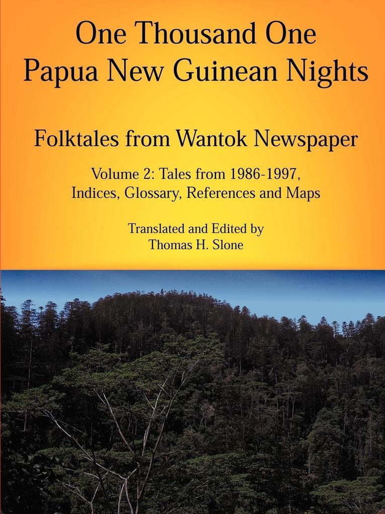 One Thousand One Papua New Guinean Nights als Taschenbuch