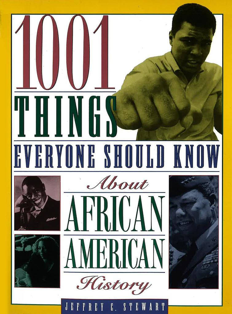 1001 Things Everyone Should Know about African American History als Taschenbuch