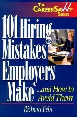 101 Hiring Mistakes Employers Make als Taschenbuch