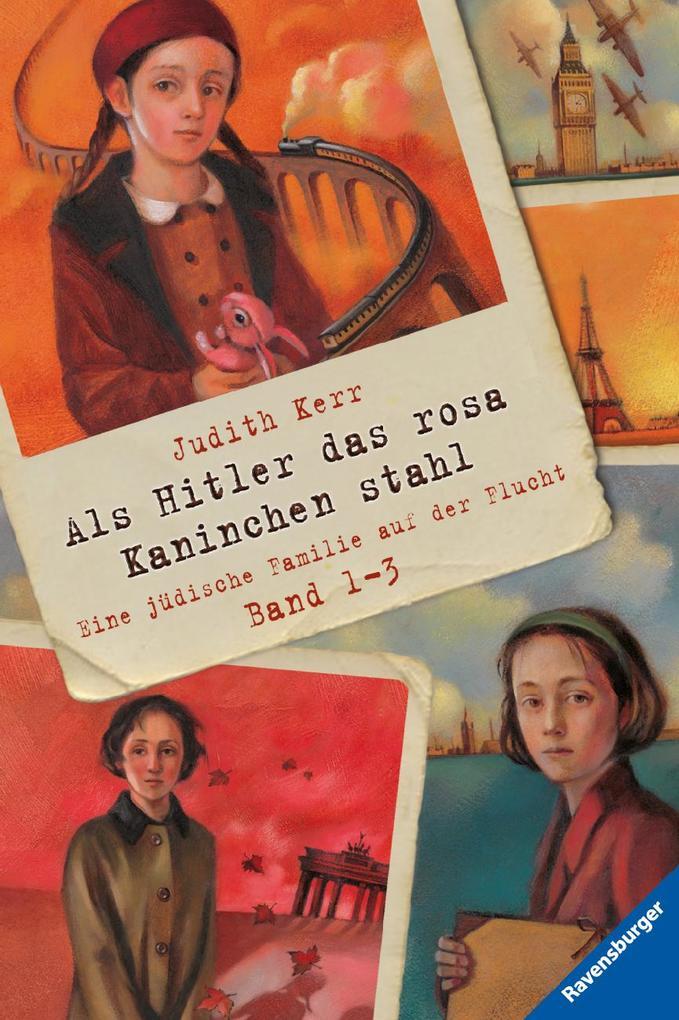 Als Hitler das rosa Kaninchen stahl, Band 1-3 als Taschenbuch
