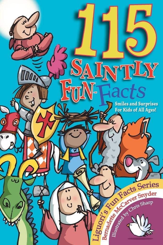 115 Saintly Fun Facts als Taschenbuch