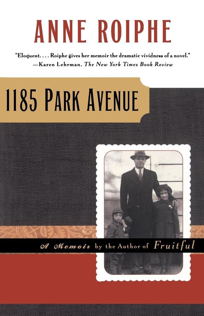 1185 Park Avenue als Taschenbuch