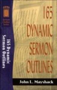 165 Dynamic Sermon Outlines als Taschenbuch