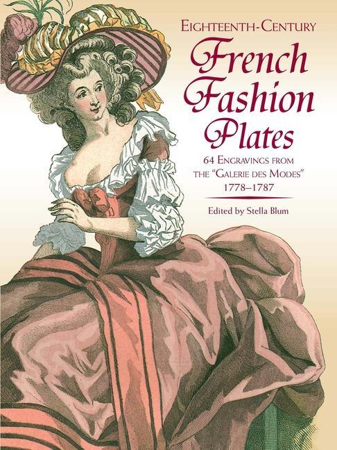 Eighteenth-Century French Fashions in Full Color als Taschenbuch