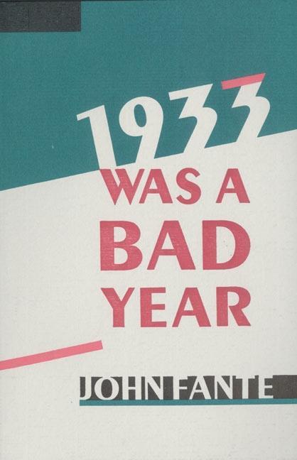 1933 Was a Bad Year als Taschenbuch