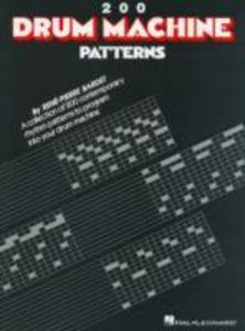 Two Hundred Drum Machine Patterns als Taschenbuch