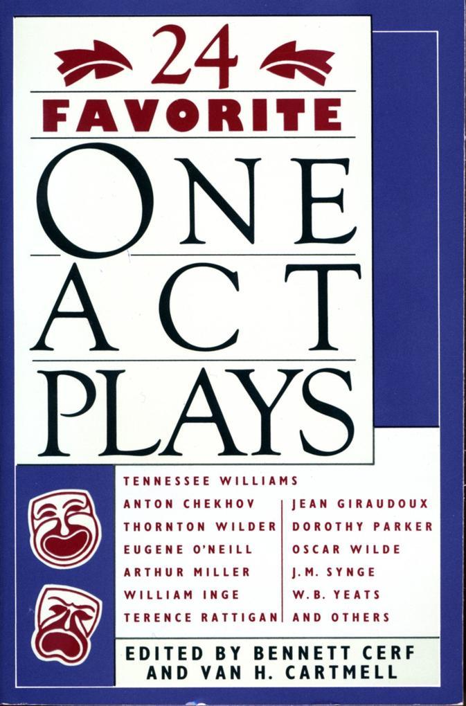 24 Favorite One Act Plays als Taschenbuch