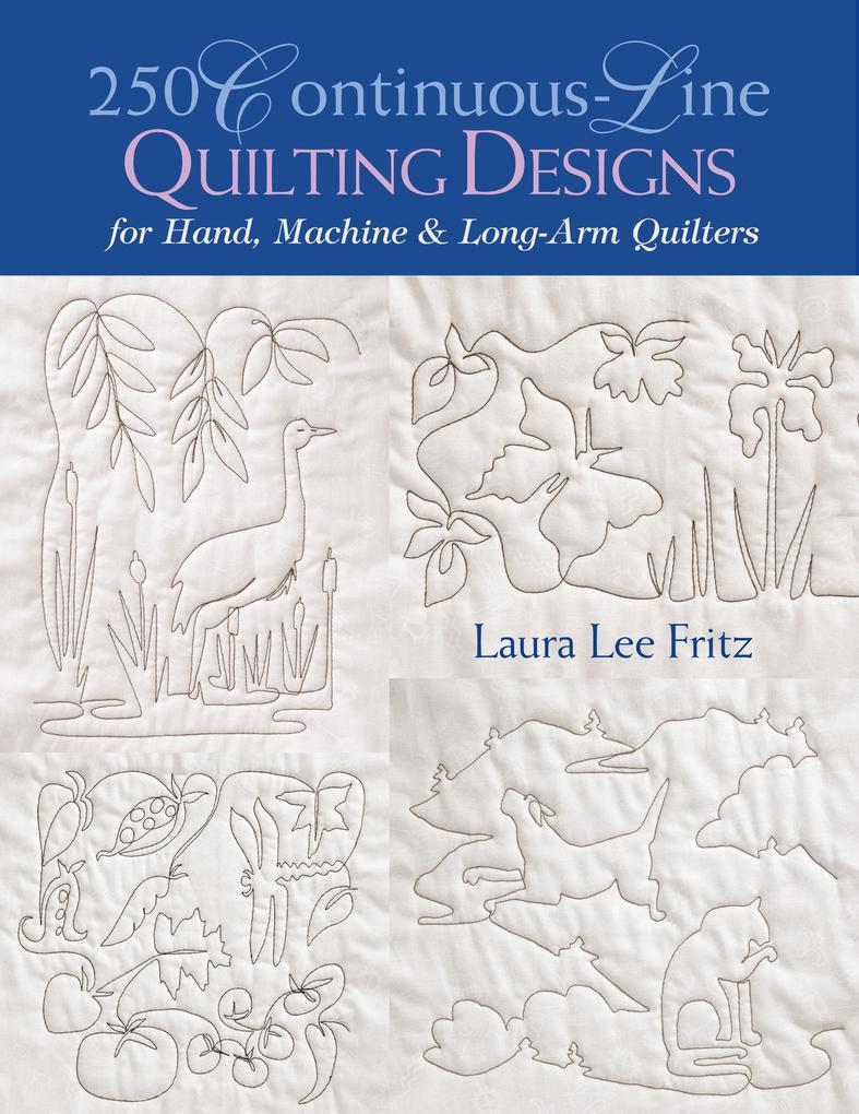 250 Continuous-Line Quilting Designs - Print on Demand Edition als Taschenbuch