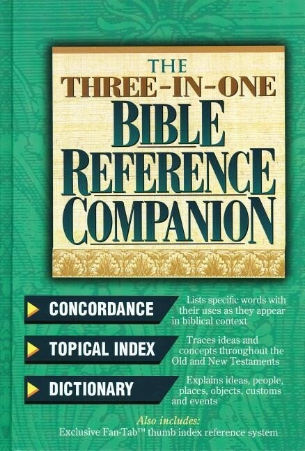 The Three-In-One Bible Reference Companion: Super Value Edition als Buch