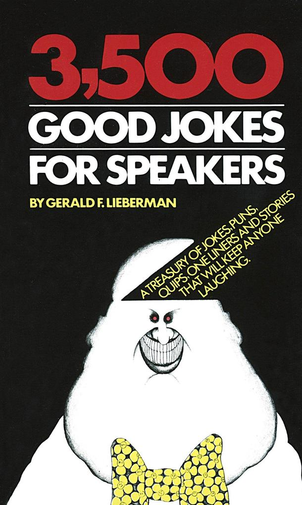 3500 Good Jokes for Speakers als Taschenbuch