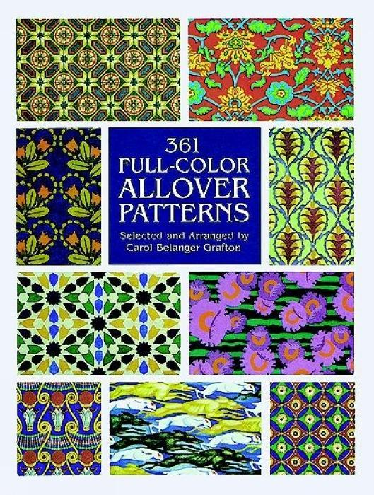 361 Full-Color Allover Patterns for Artists and Craftspeople als Taschenbuch