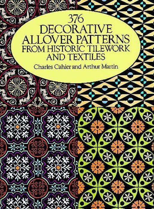 376 Decorative Allover Patterns from Historic Tilework and Textiles als Taschenbuch