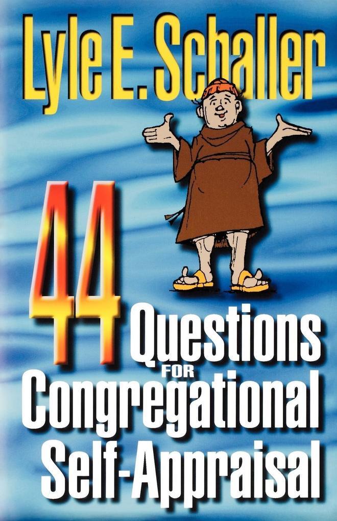 44 Questions for Congregational Self-Appraisal als Taschenbuch