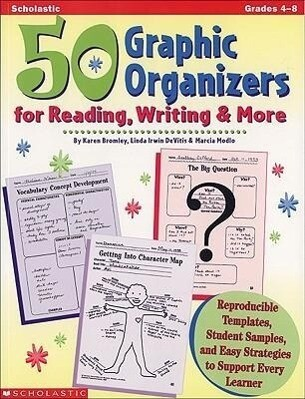 50 Graphic Organizers for Reading, Writing and More als Taschenbuch